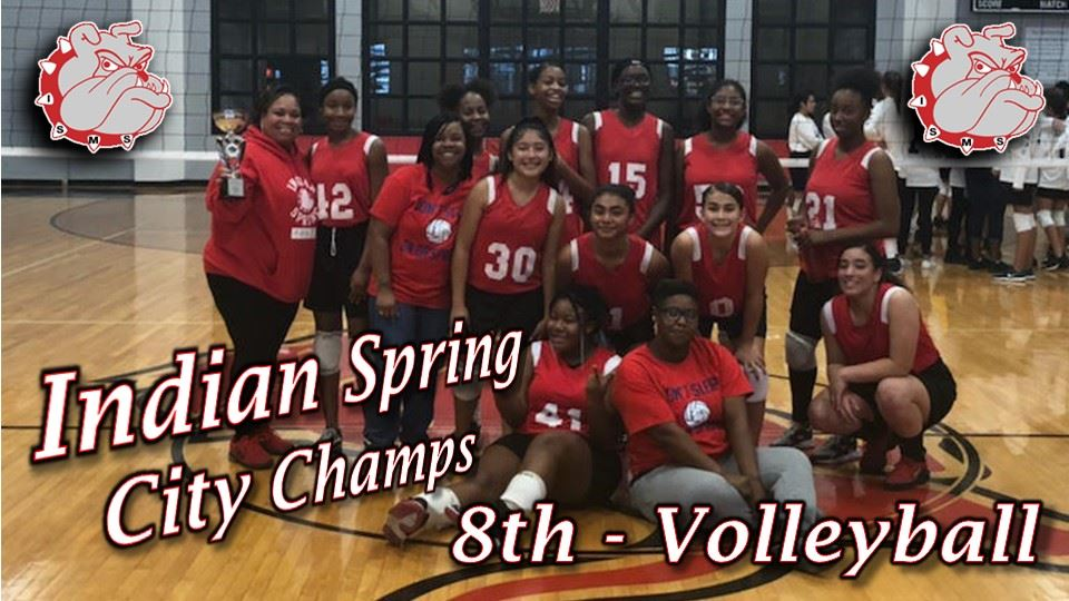 8th grade Volleyball City Champs