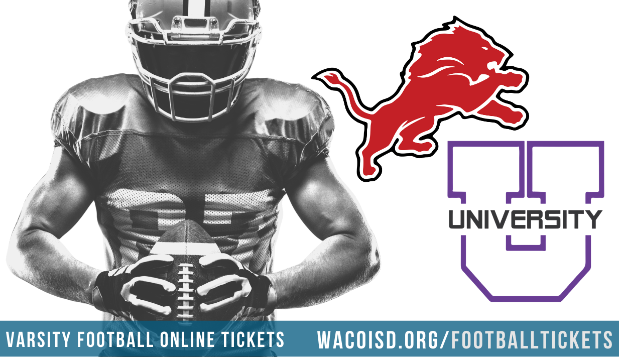 online ticket sales wacoisd.org/footballtickets