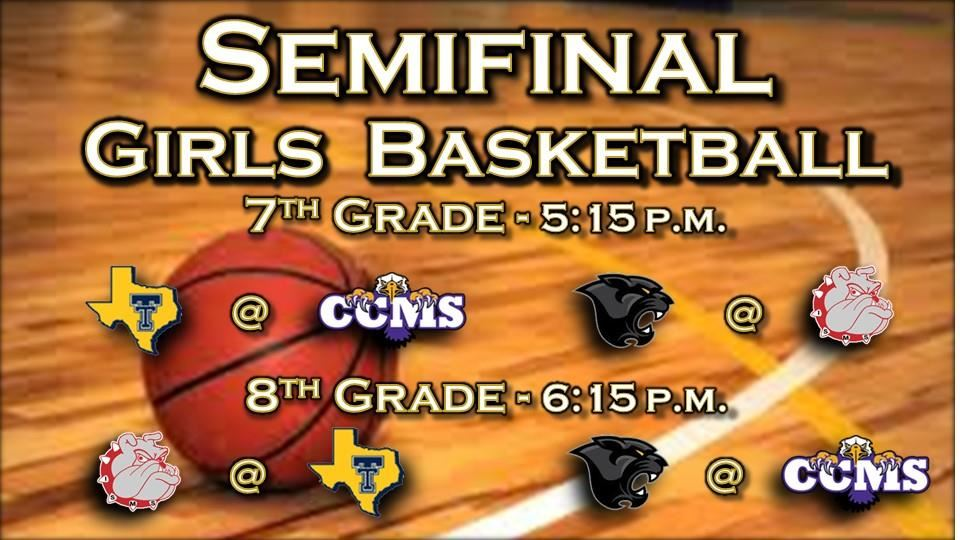Middle School Girls Basketball Semifinals